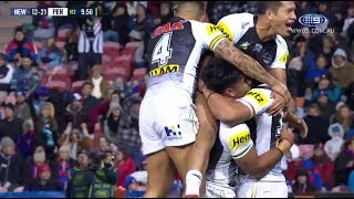 NRL Highlights: Newcastle Knights v Penrith Panthers – Round 10