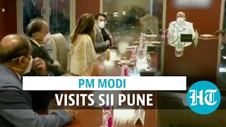 Watch: PM Modi visits Serum Institute of India to review vaccine development