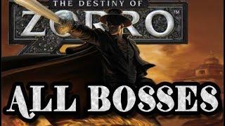 The Destiny of Zorro All Bosses | Final Boss (Wii)