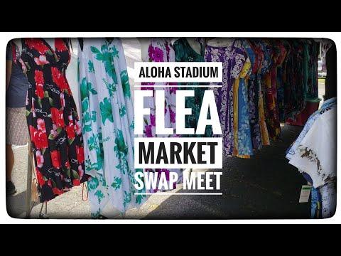 Aloha Stadium Swap Meet || Flea Market || Shopping For Souvenirs