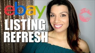 Refresh Listings on eBay | Boost eBay Sales | eBay Algorithm Tips & Tricks