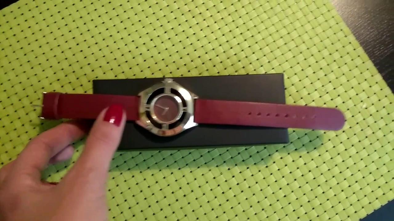 Заказ AVON Женские кварцевые часы Криста ОБЗОР - YouTube