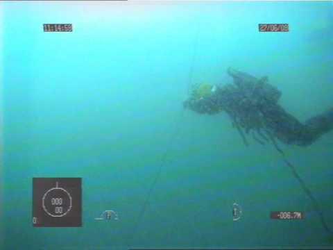 Diver Recue Drill ROV