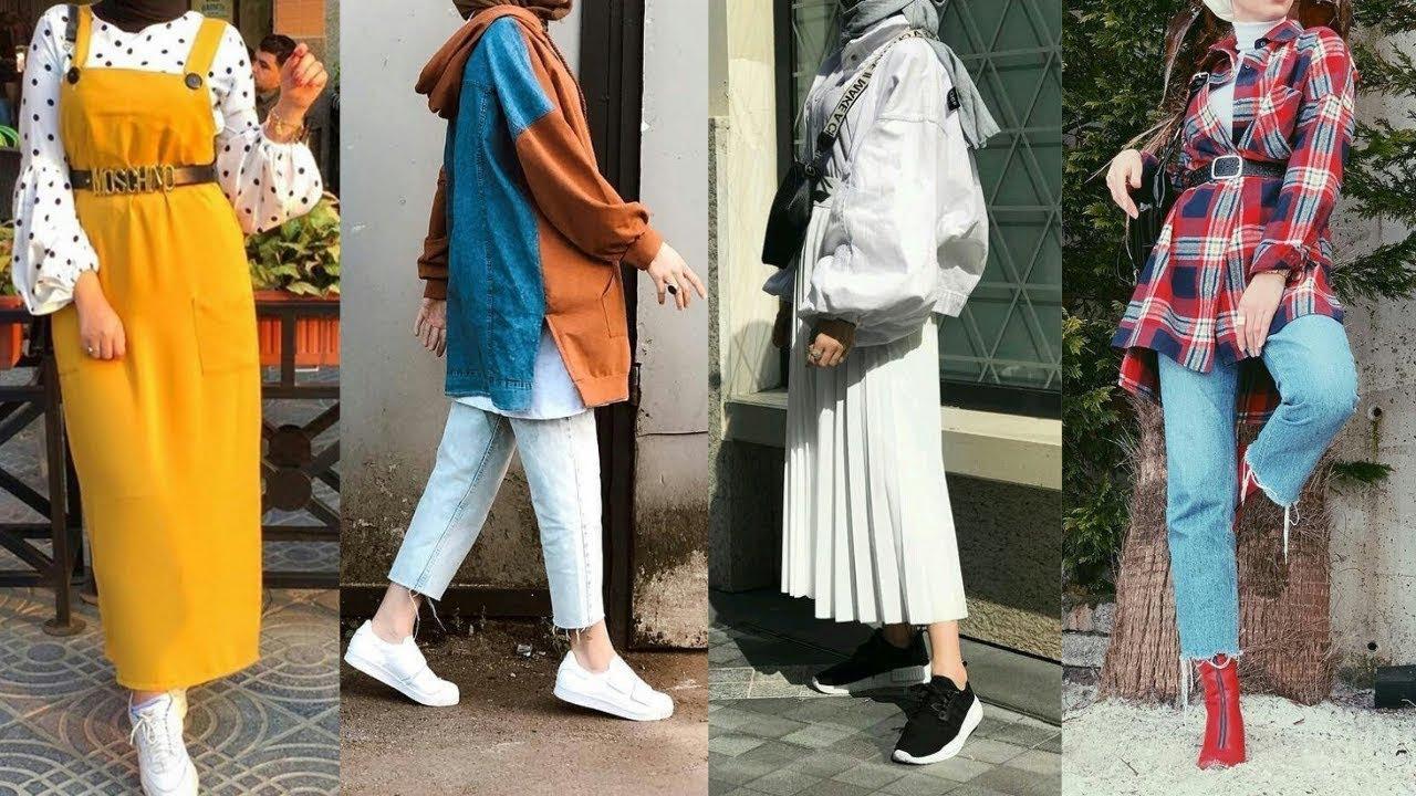 تنسيقات ملابس صيفية للمحجبات في غاية الشياكة   2019                           SUMMER HIJAB LOOKBOOK 6