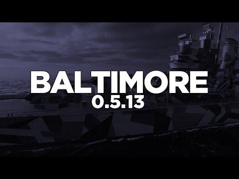 World of Warships - Baltimore 0.5.13