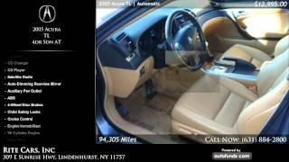 2005 Acura TL 4dr Sdn AT | Rite Cars, Inc, Lindenhurst, NY - SOLD