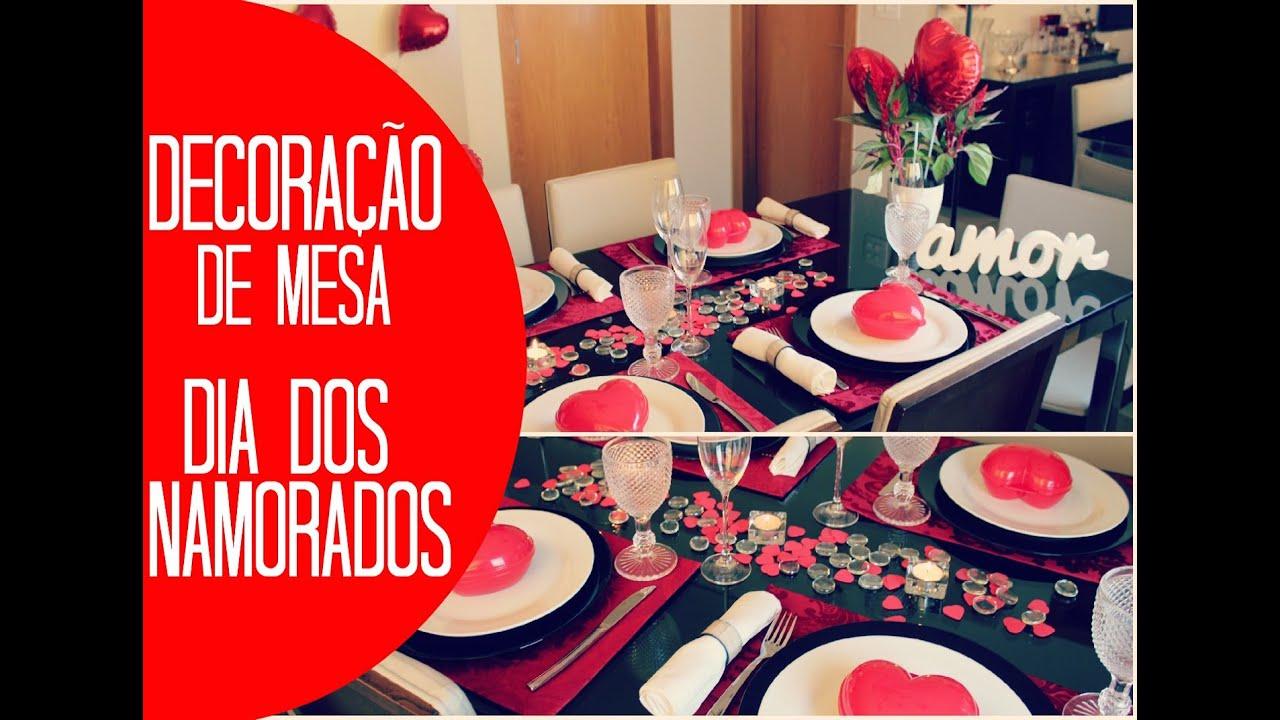 Decoraç u00e3o de mesa para o Dia dos Namorados #mesaemdetalhes YouTube