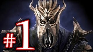 The Elder Scrolls - Skyrim Dragonborn Walkthrough Playthrough Part 1 HD - First Dragonborn!