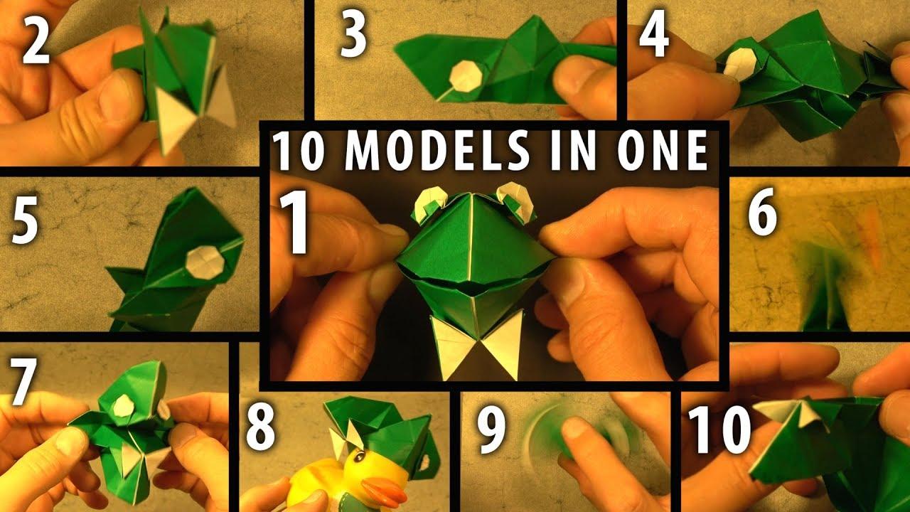 Monkey climbing the moutain - Tavin's Origami | 720x1280