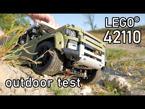 LEGO Technic 42110 Outdoor Test | LEGO 42100 Land Rover Defender | Functionality 42110 LEGO