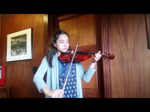 Charity Jordan Violin Level I Gossec Gavotte