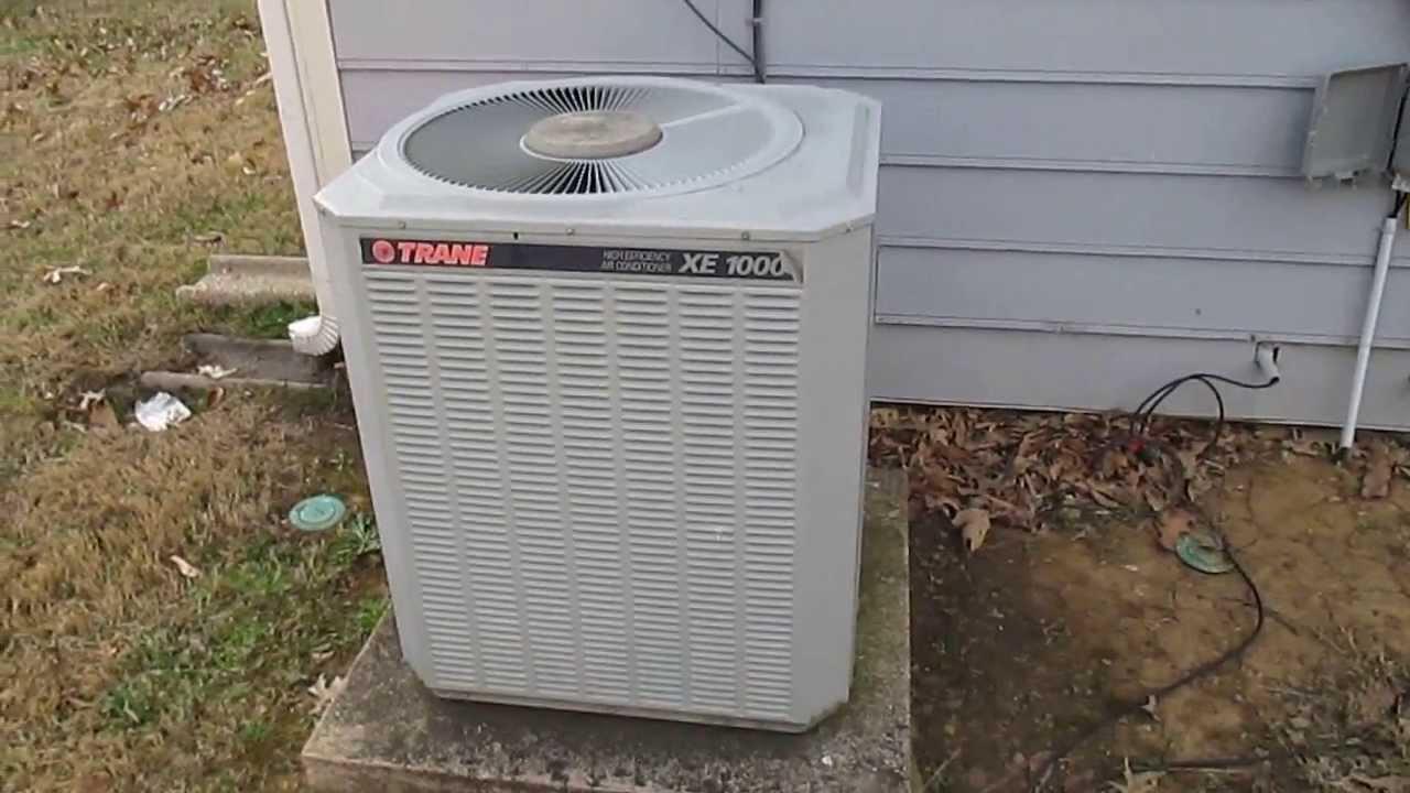 1996 Trane XE 1000 Straight Cool Unit