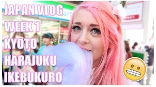 One of NoodleVlogs's most viewed videos: Noodlerella in JAPAN | Kyoto! Harajuku! Ikebukuro ✧
