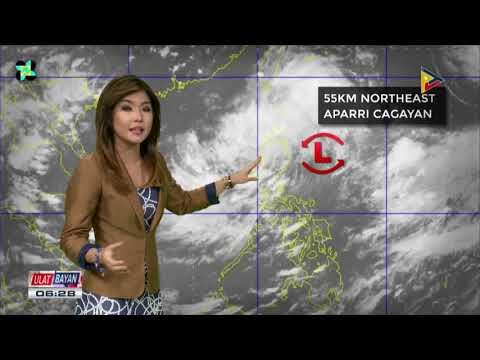 PTV INFO WEATHER: LPA, patuloy na magpapaulan sa Hilagang Luzon