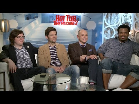 'Hot Tub Time Machine 2' Interview: Craig Robinson, Rob Corddry, Adam Scott and Clark Duke