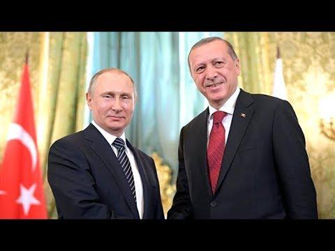 """Путин и Эрдоган открывают морской участок """"Турецкого потока"""". Прямая трансляция смотреть онлайн"""