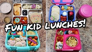 Fun Bento School Lunches+What She Ate - Bella Had A Rough Week With Her Lunches😔