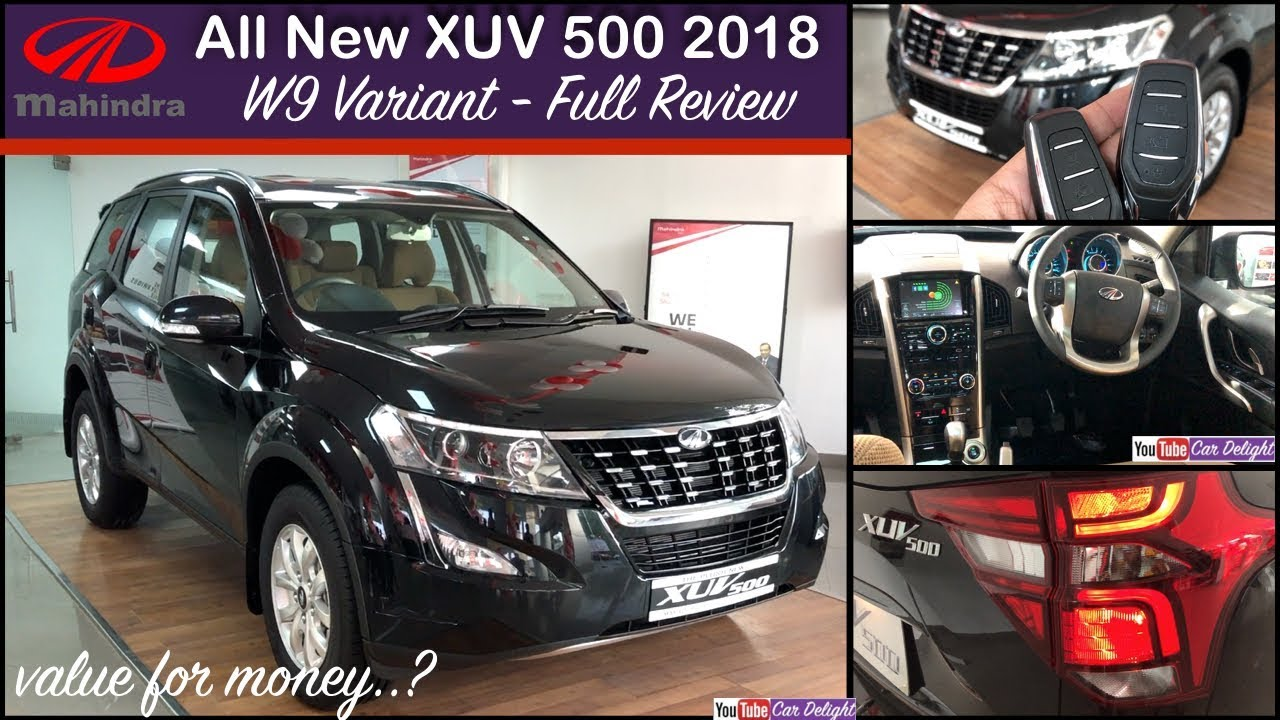2018 Mahindra Xuv 500 Facelift W9 Xuv 500 2018 W9 Interior And