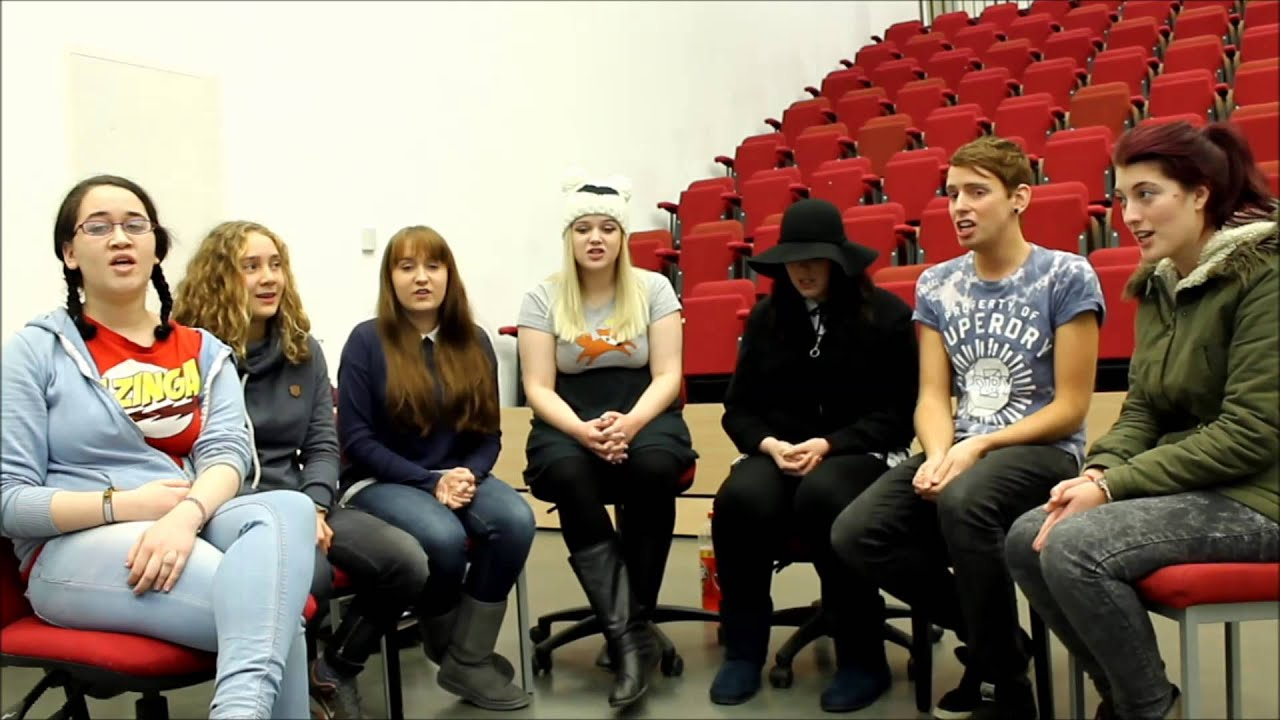Sia - Chandelier (University of Derby Glee Club Cover) - YouTube