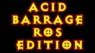 Diablo 3 Witch Doctor Build Acid Barrage! Insane DPS! Reaper Of Souls