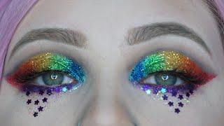 creative makeup look