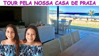 TOUR PELA NOSSA CASA DE VERANEIO