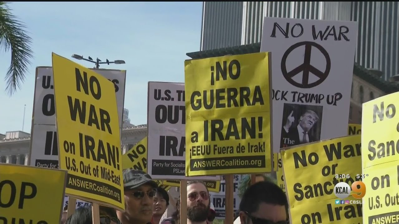 Anti-War Protest In Los Angeles