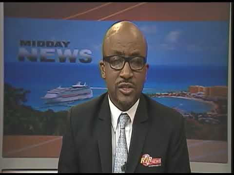 Tropical Storm Harvey Lashes Barbados - TVJ Midday News - August 18 2017  17 43 05
