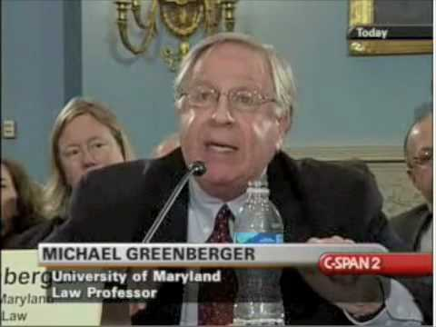 Michael Greenberger - House Agriculture Committee on Derivatives Legislation 2/4/09