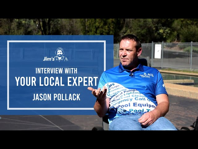 #JIMS Poolside chat with Jason Pollack from Jim's Pool Care & Mobile Pool Shops | 131 546 |