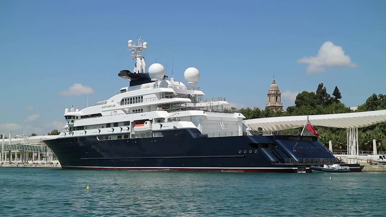 Paul Allen S Us 250 Million Mega Yacht Octopus