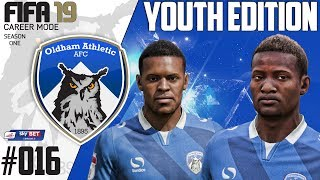 Fifa 19 Career Mode  - Youth Edition - Oldham Athletic - Season 1 EP 16