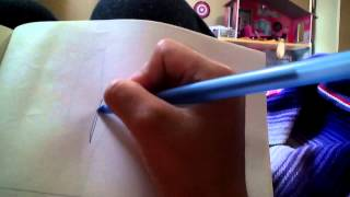 How to draw a lightning bolt easy short video