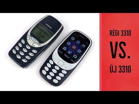 Az új 3310-es Nokia a régi ellen