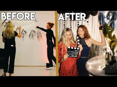 DIY Party Ideas - How I Celebrated My 18th Birthday! + Crafts & Timelapses :O