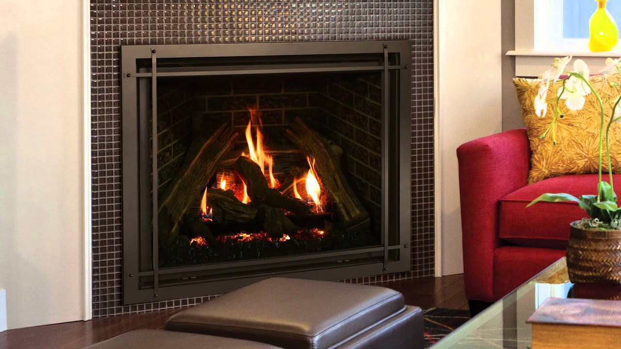 Kozy Heat - Carlton 39 Fireplace - YouTube