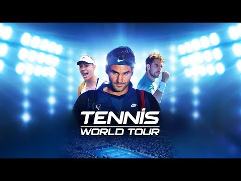 LIVE DÉCOUVERTE TENNIS WORLD TOUR PS4