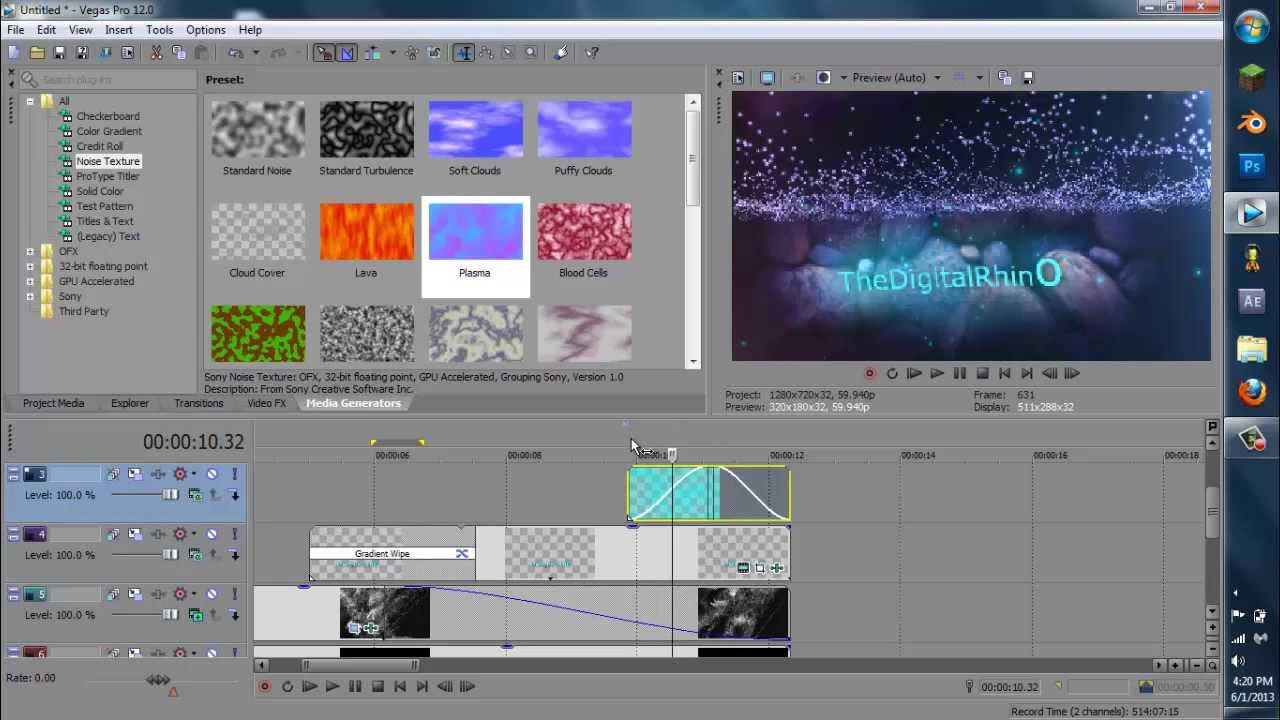 sony vegas pro 12 how to add subtitles
