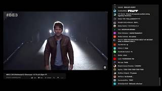 Bethesda E3 2018 Showcase - Chat Reaction to Todd Howard