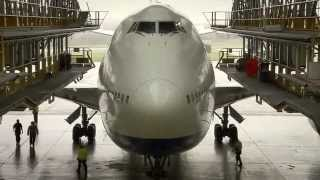British Airways Boeing 747-400 in D-Check thumbnail