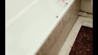 як зробити розсувний екран під ванну з пластикових панелей