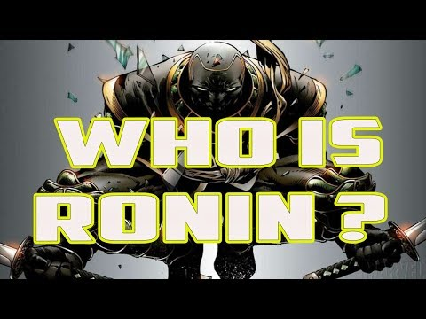 History and Origin of RONIN! (Clint Barton, Hawkeye) Who Is Ronin ?? #AvengersEndgame