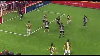 Serhat Akın'ın Golü | 4 Büyükler Salon Turnuvası | Beşiktaş 2 - Fenerbahçe 2 | (04.01.2016)