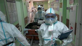 В России зафиксирован новый максимум за все время пандемии 13868 случаев COVID 19