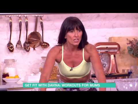 Davina McCall's Exercise Tips | This Morning