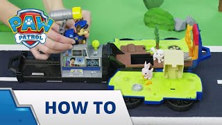 PAW Patrol  How-To Ride n Rescue
