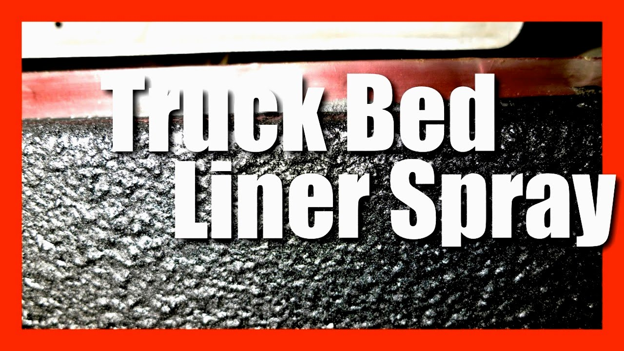 Truck Bed Liner Spray Durable Protective Coating Bed Liner Paint