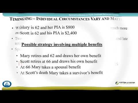 Social Security & Retirement Planning Calculator Webinar
