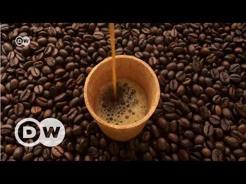 İlk 'Organik' yenilebilen kahve bardağı - DW Türkçe