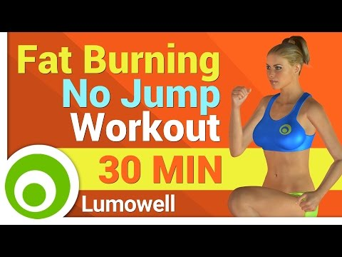 Fat Burning Exercises - Total Body No Jump Workout for Weight Loss and Toning